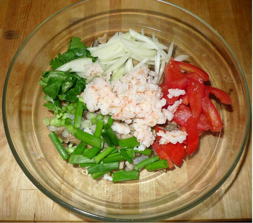 Thai Kitchen Chester: Amporn's Thai Kitchen: Thai Mung Bean Noodles Spicy Salad