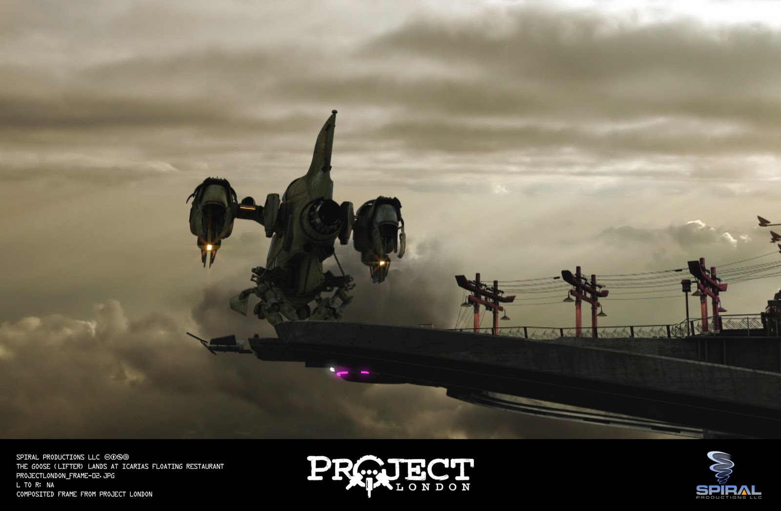Visual Effects For Project London Made With Blender!