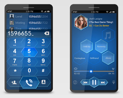 Blue Bee Concept Phone