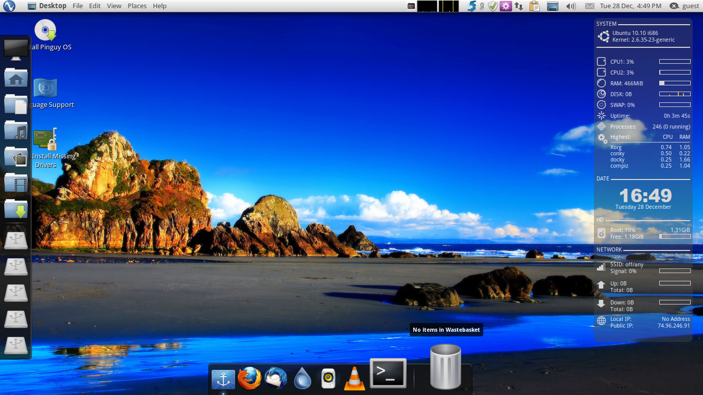 Linux Mint vs Pinguy OS Review