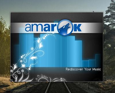 Amarok 2.4 Slipstream Splash Screen