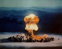 PRISCILLA-YELLOW: Test:Priscilla; Date:June 24 1957; Operation:Plumbbob; Site:Nevada Test Site (NTS), Area 5; Detonation:Baloon, altitude - 700ft; Yield:37kt; Type:Fission