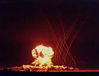 HORNET: Test:Hornet; Date:March 12 1955; Operation:Teapot; Site:Nevada Test Site (NTS), Area 3a; Detonation:Tower, altitude - 300ft; Yield:4kt; Type:Fission