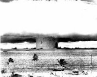 BAKER-PALM: Test:Baker; Date:July 24 1946; Operation:Crossroads; Site:Bikini Atoll lagoon, Marshall Islands; Detonation:Underwater, depth - 90ft(27.5m); Yield:23kt; Type:Fission