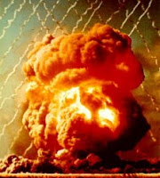 R4BUFFALO: Test:Round 4; Date:October 22 1956; Operation:Buffalo; Site:Breakaway Site, Maralinga Test Range; Detonation:Aluminum Tower Shot, altitude - 110ft(34m); Yield: 16kt; Type:Fission