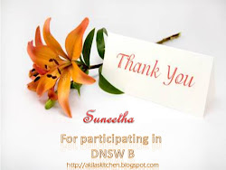 For Participating in Akila's DNSW B