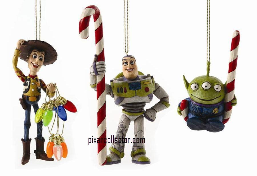 Pixar Collector New Toy Story Disney Traditions Xmas Ornament Set