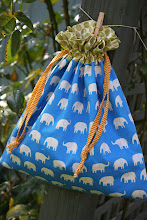 My Free Lined Drawstring Bag Pattern/Tutorial