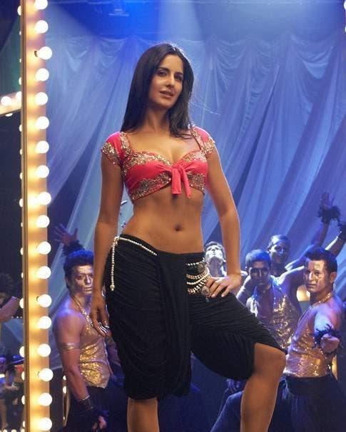 Katrina Kaif Hot Navel Show  Sab Hot Actresses-2124