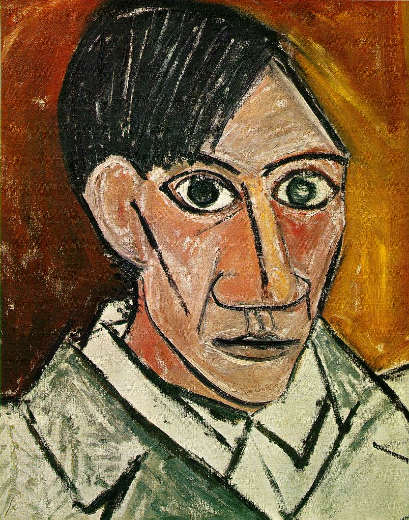 Pablo Picasso Paintings Self Portrait