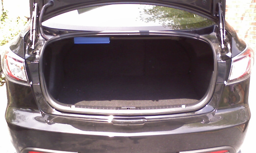 Purefinity's Blog: 2010 Mazda 3 - Rear Deck Subwoofer Install