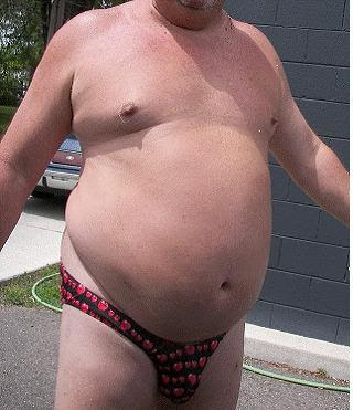 Fat Guy In Thong 104