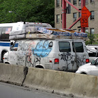 Bedbug Express - At the LES approach to the Williamsburg Bridge.