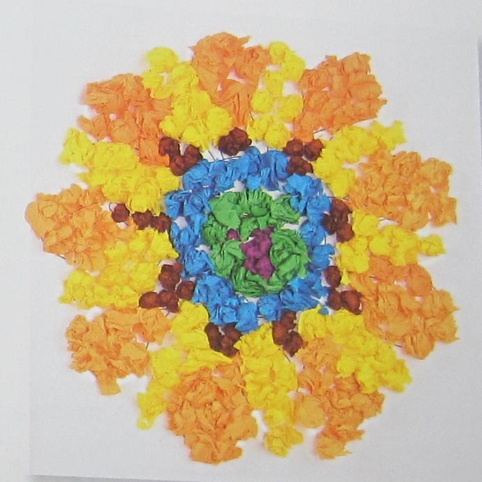 Manualidades Sencillas Mandalas De Flores