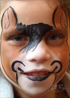 Here S A Horse Face Painting Design I Quite Like This And It Could Be Adapted Easily For Full Of Unicorn