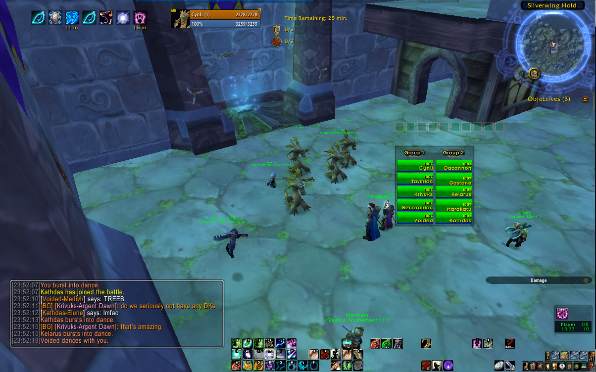Call to Arms: Warsong Gulch! | OMFG Soup