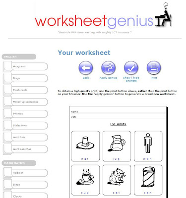 skillsworkshop Blog: Worksheet Genius for instant Entry and ...