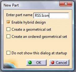 Modelling the RSS Feed Icon - CATIA V5 Tutorial
