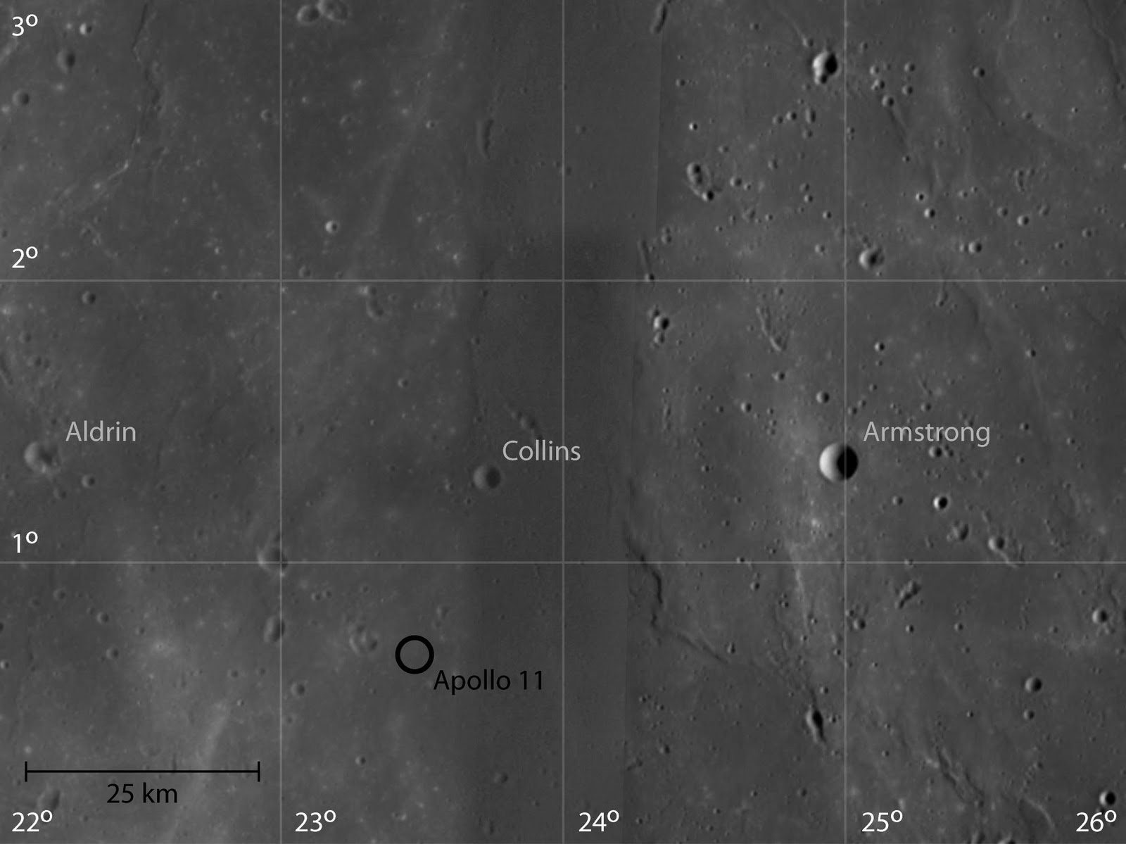 Selology: Apollo 11 Landing Site by SMART-1