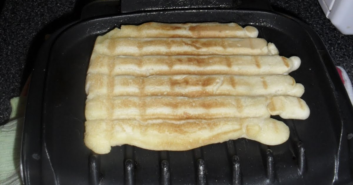 Katie S Quilts And Crafts George Foreman Waffle Pancakes