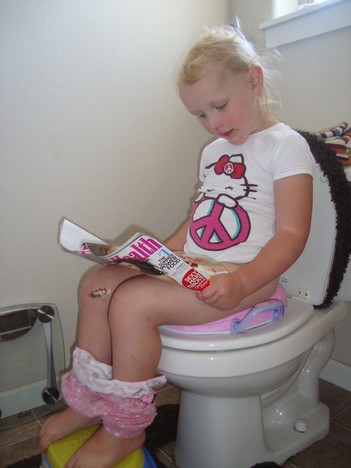 little girl potty accident Kids Activities Blog