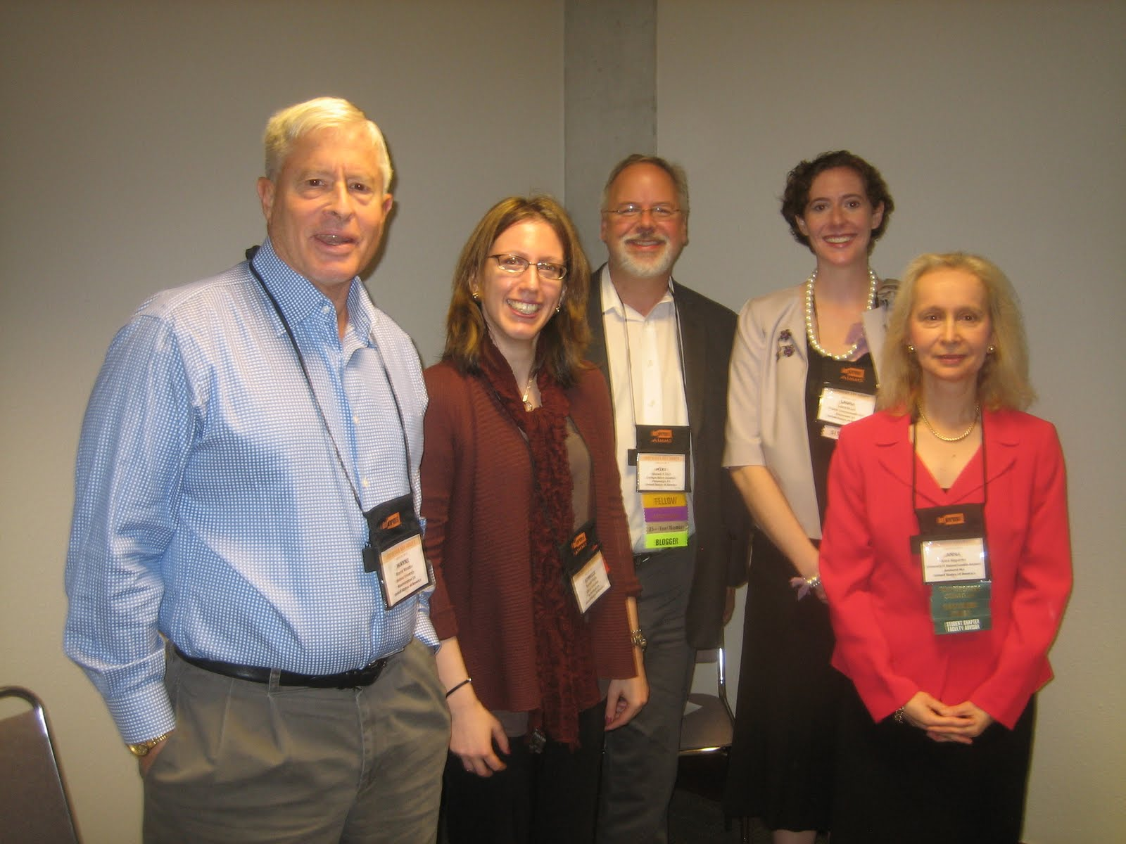 The social networking panelists at INFORMS