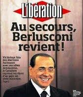 Berlusconi su Liberation