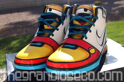 e7ee177e8ab Reno Nevada Stewie Griffins x Nike Lebron VI.