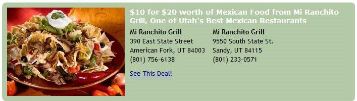 mi ranchito american fork coupon