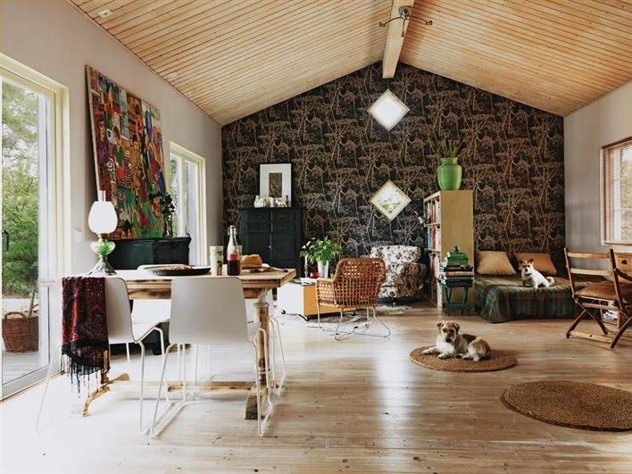 interiors swedish cottage. Black Bedroom Furniture Sets. Home Design Ideas