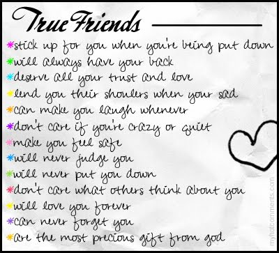 qualities of being a good friend