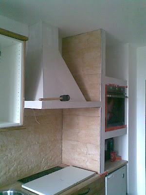 heimwerker k che aus rigips holz kunststein kombination. Black Bedroom Furniture Sets. Home Design Ideas