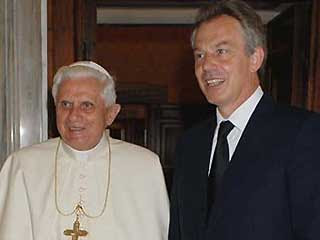 B16 and Tony Blair