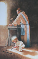 St. Joseph and Jesus