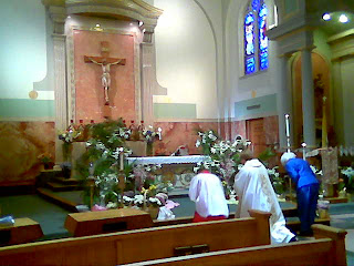 Easter at Blessed Sacrament 1