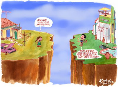rich vs poor cartoons - photo #41