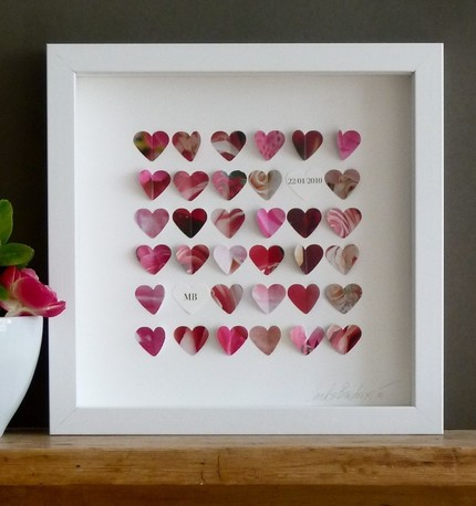 I Saw This Darling Wedding Gift Heart Frame On Etsy For A Price Of 49 Plus Shipping Yikes It S Very Nice Would Like One Myself
