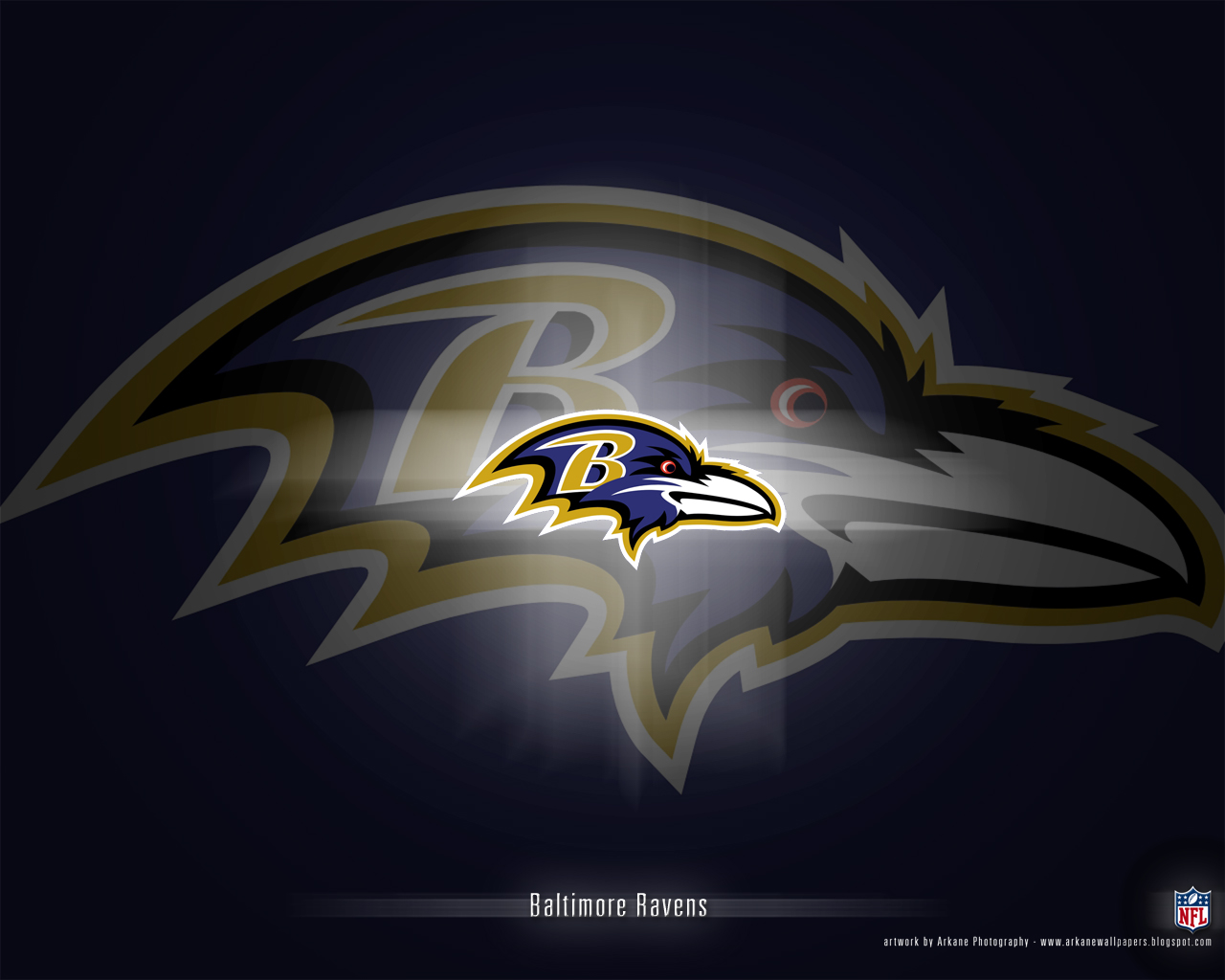 Arkane NFL Wallpapers: Baltimore Ravens - Vol. 1