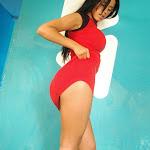 Andrea Rincon, Selena Spice Galeria 2 : Minifalda Roja y Tanga Blanca Foto 6