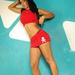 Andrea Rincon, Selena Spice Galeria 2 : Minifalda Roja y Tanga Blanca Foto 28