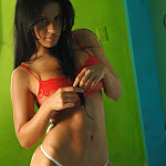Andrea Rincon, Selena Spice Galeria 2 : Minifalda Roja y Tanga Blanca Foto 101