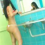 Andrea Rincon, Selena Spice Galeria 2 : Minifalda Roja y Tanga Blanca Foto 125