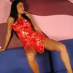 Andrea Rincon, Selena Spice Galeria 1 : Traje Oriental Rojo Foto 46