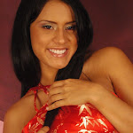 Andrea Rincon, Selena Spice Galeria 1 : Traje Oriental Rojo Foto 54