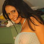 Andrea Rincon, Selena Spice Galeria 4 : Pantalon Azul y Top Transparente Foto 64