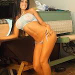 Andrea Rincon, Selena Spice Galeria 4 : Pantalon Azul y Top Transparente Foto 66