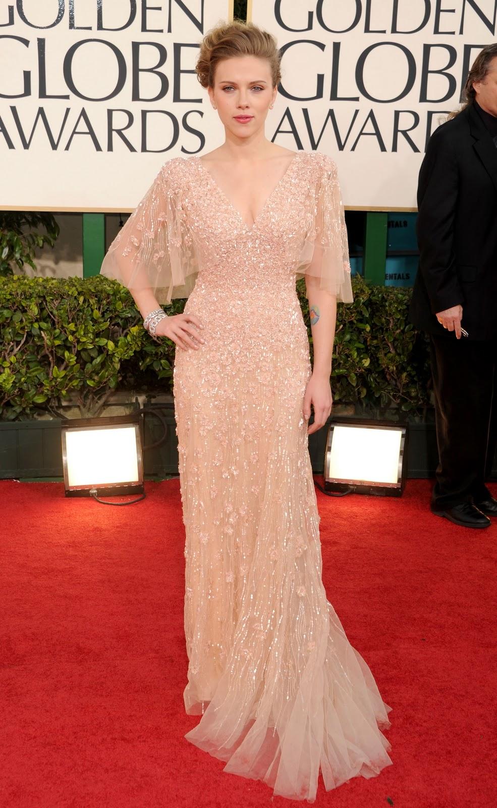 Golden Globes: Scarlett Johansson in Elie Saab - Coco's Tea Party