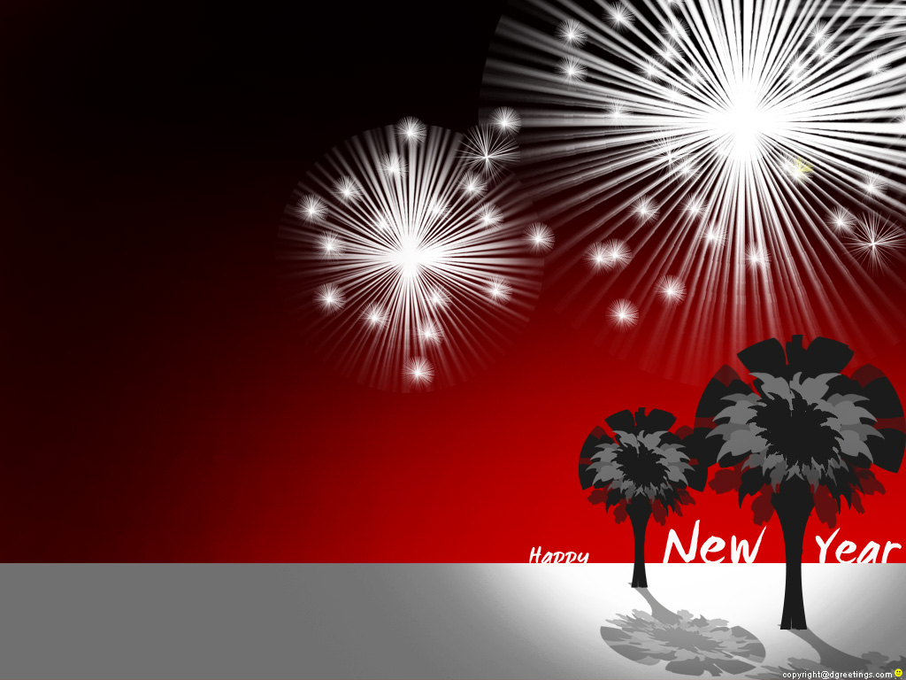 New Year Wall Papers  New Year 2011 Wallpapers. 1024 x 768.Free Happy New Year Greeting Message