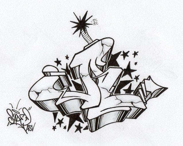 Best Grafiti Lattes Graffiti 3d Alphabet