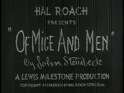 comparison of book and movie adaptation of mice and men by john steinbeck Free essay on film critique of of mice and men to the book and men to the book the movie of mice and men adaptation of john steinbeck's of mice.